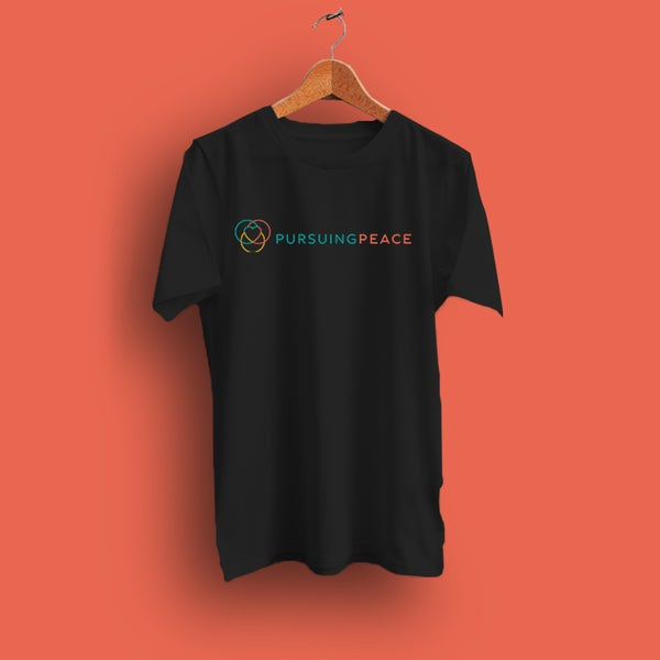 Image of Black Pursuing Peace T-Shirt