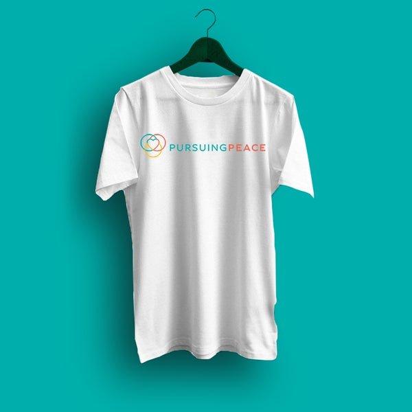 Image of White Pursuing Peace T-Shirt