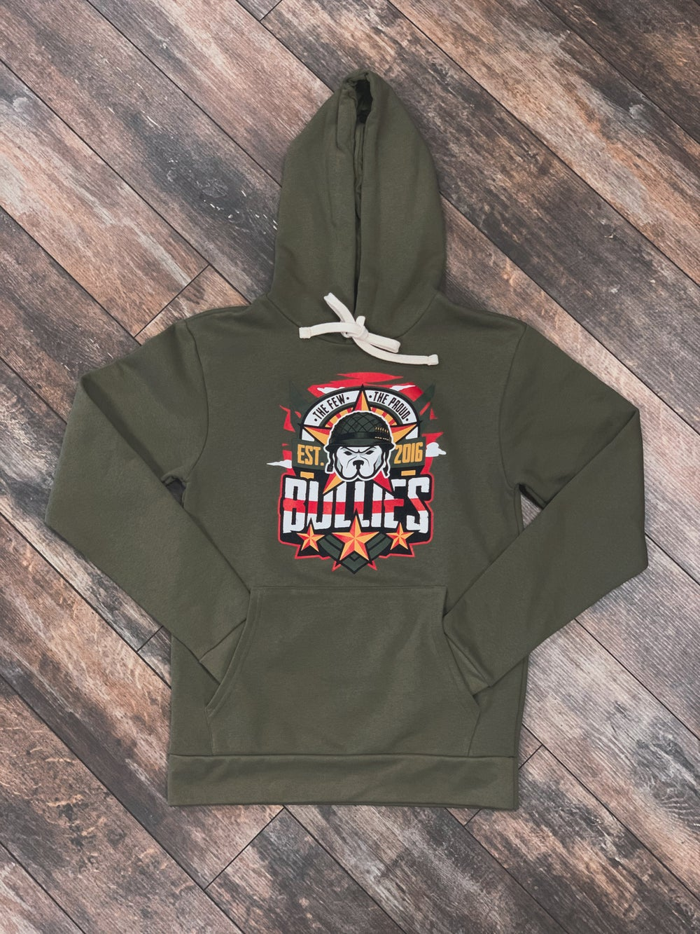 The Few The Proud (Mil. Green) HOODIE