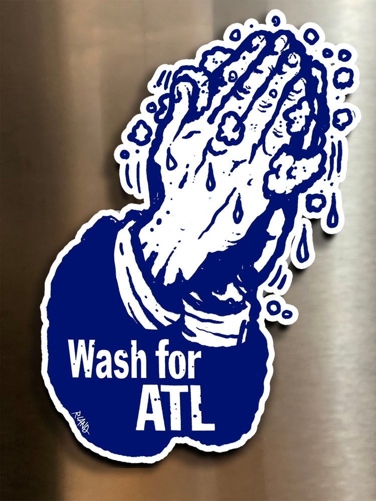 Image of Limited Edition Wash for ATL Magnetic Art