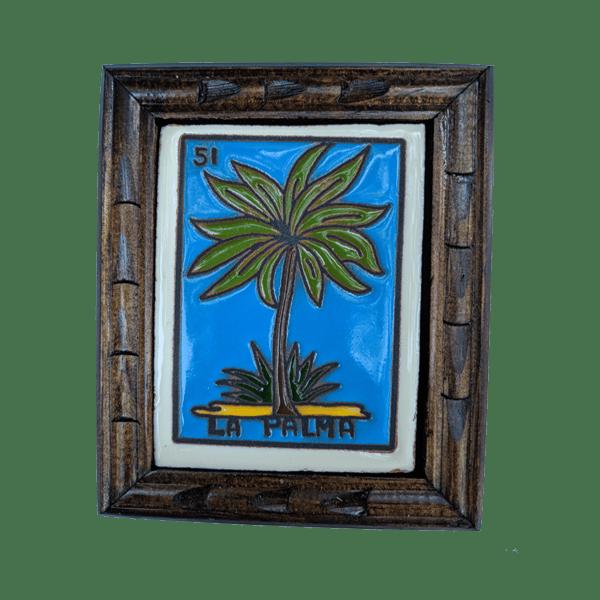 Image of La Palma Loteria Wooden Frame