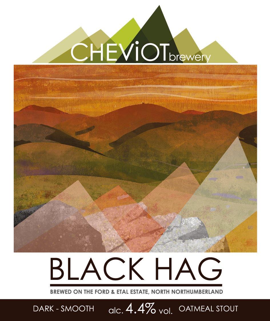 Image of 6x BLACK HAG - 500ml bottles (4.4%) - OATMEAL STOUT