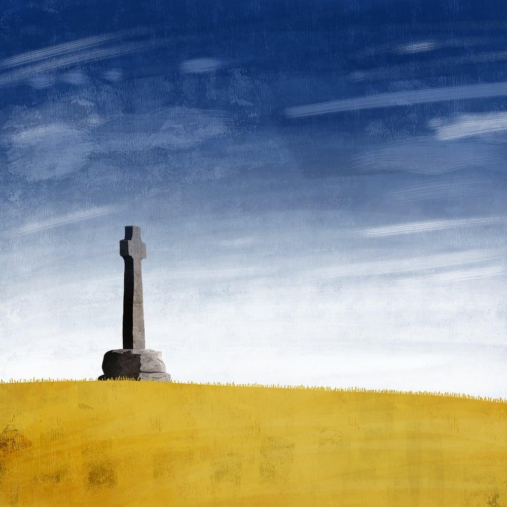 Image of FLODDEN THIRST - Giclee Art Print - Beer Art by Neil Baker