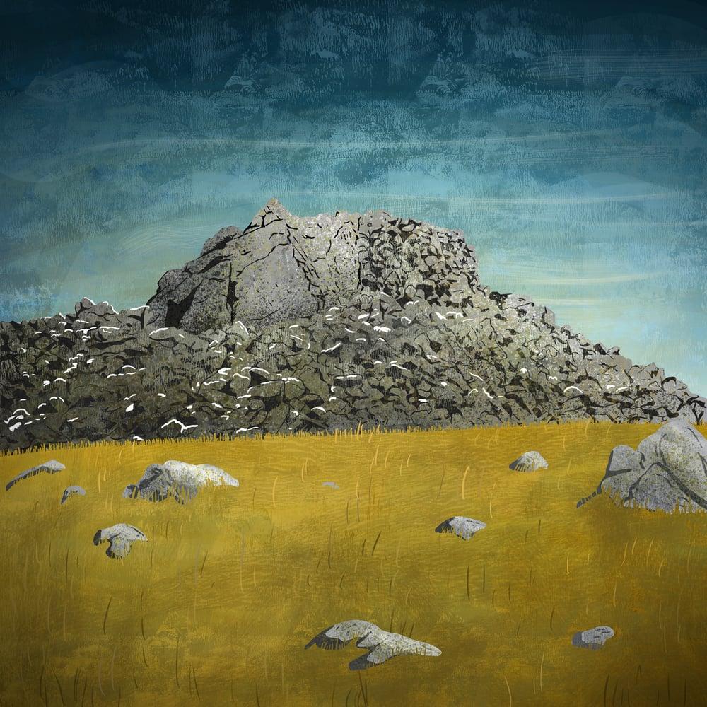 Image of THE SCHIL - Giclee Art Print - Beer Art - by Neil Baker
