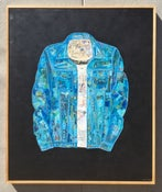 Image of Blue Jean Jacket Collage -Original-