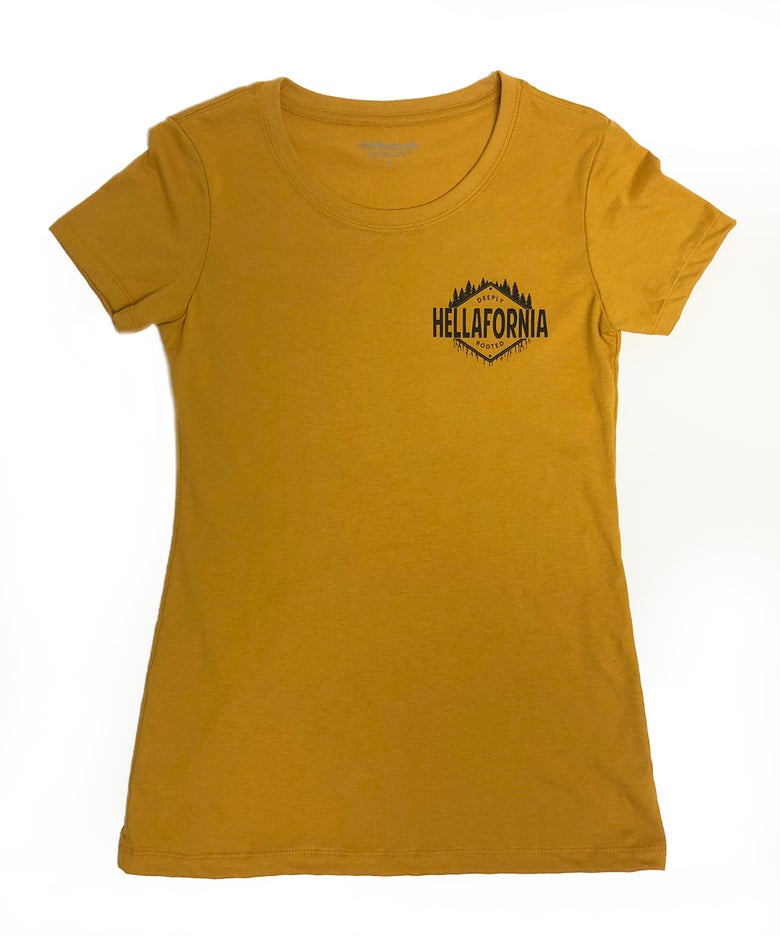 Image of Deeply Rooted Gold - Womens Tee