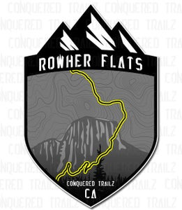 """Image of """"Rowher Flats"""" Trail Badge"""