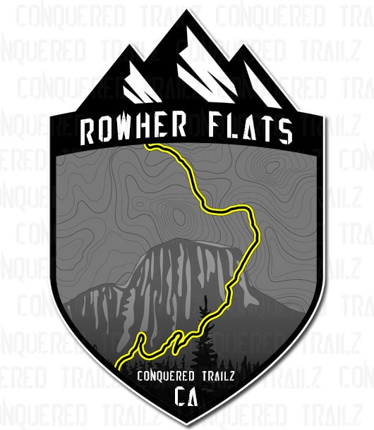 "Image of ""Rowher Flats"" Trail Badge"
