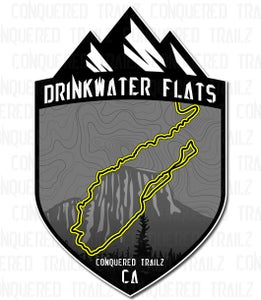 "Image of ""Drinkwater Flats"" Trail Badge"