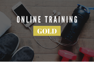 Image of ONLINE TRAINING: Shut Up And Train - GOLD