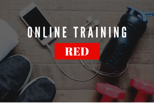 Image of ONLINE TRAINING: Shut Up And Train - RED
