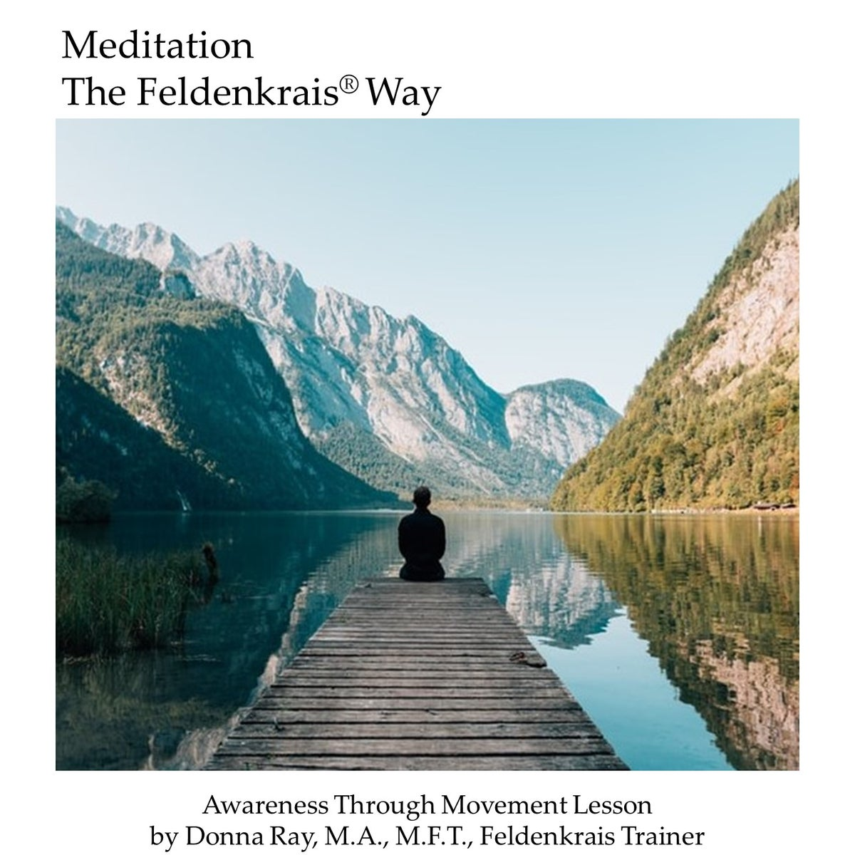 Image of ATM: Meditation - The Feldenkrais Way