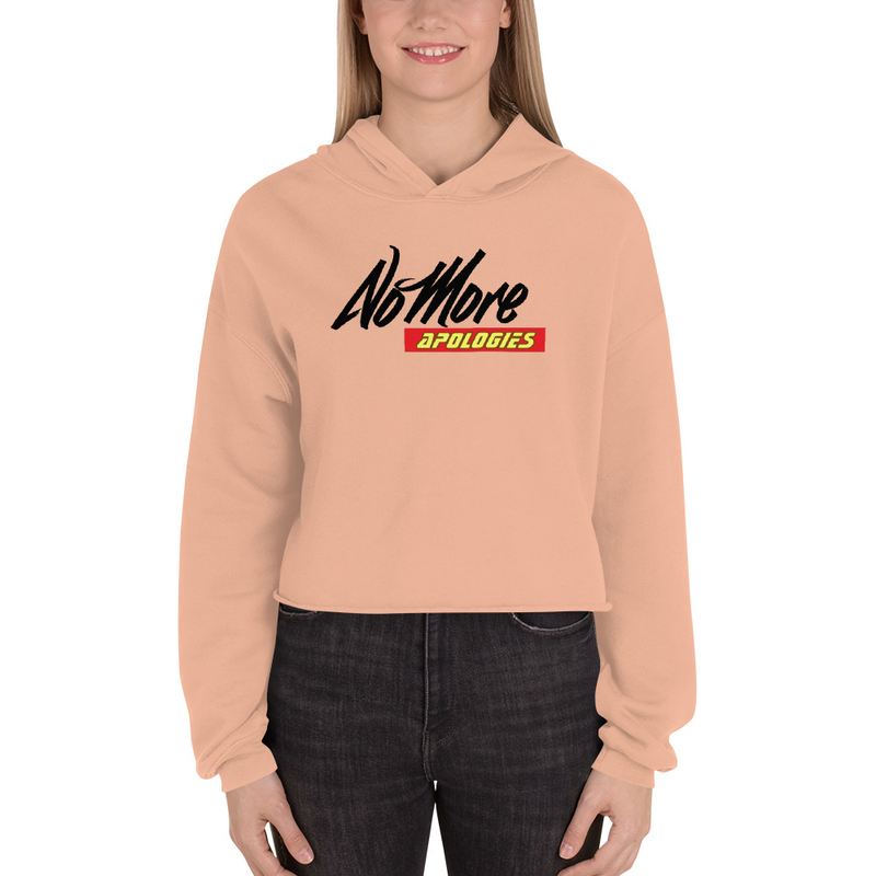 Image of No More Apologies Woman's Crop Top Hoodies & Sweatshirts
