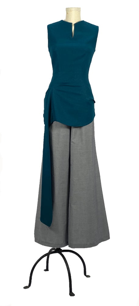 Image of gravity top teal