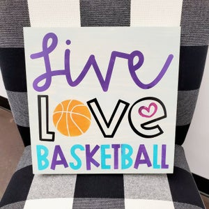 Image of Kids & Teens - Sports Designs - 12x12 and 10x14 Wood Signs