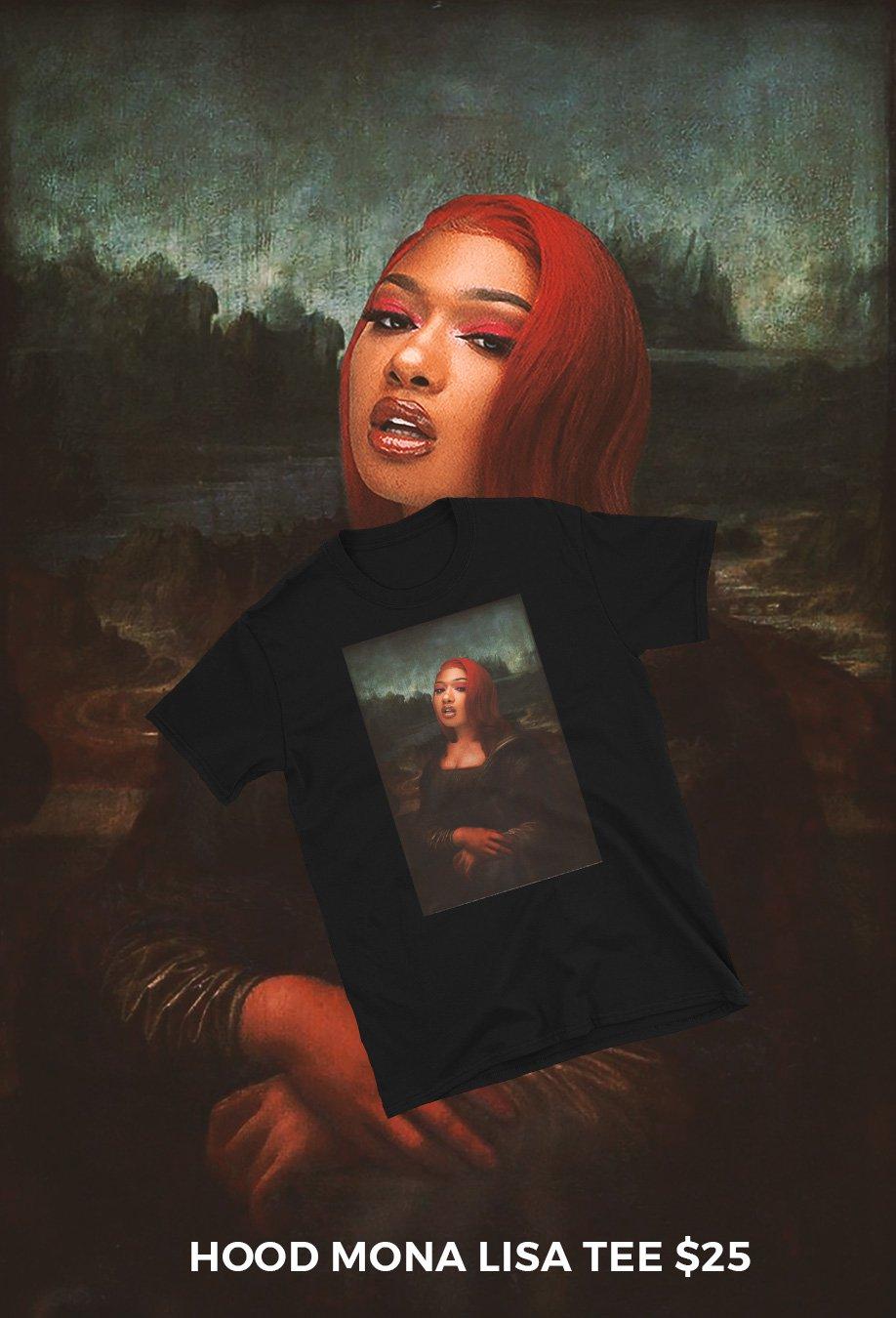 Image of Hood Mona Lisa Tee