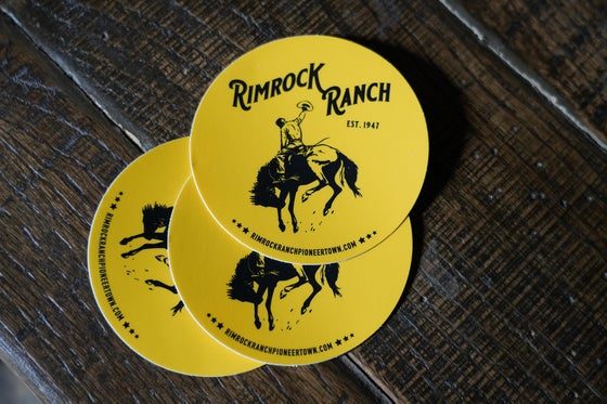 Image of RR Decal - Bronc Rider