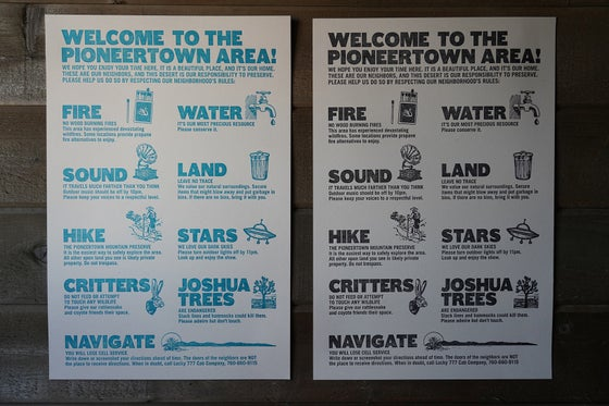 Image of Welcome To Pioneertown Poster