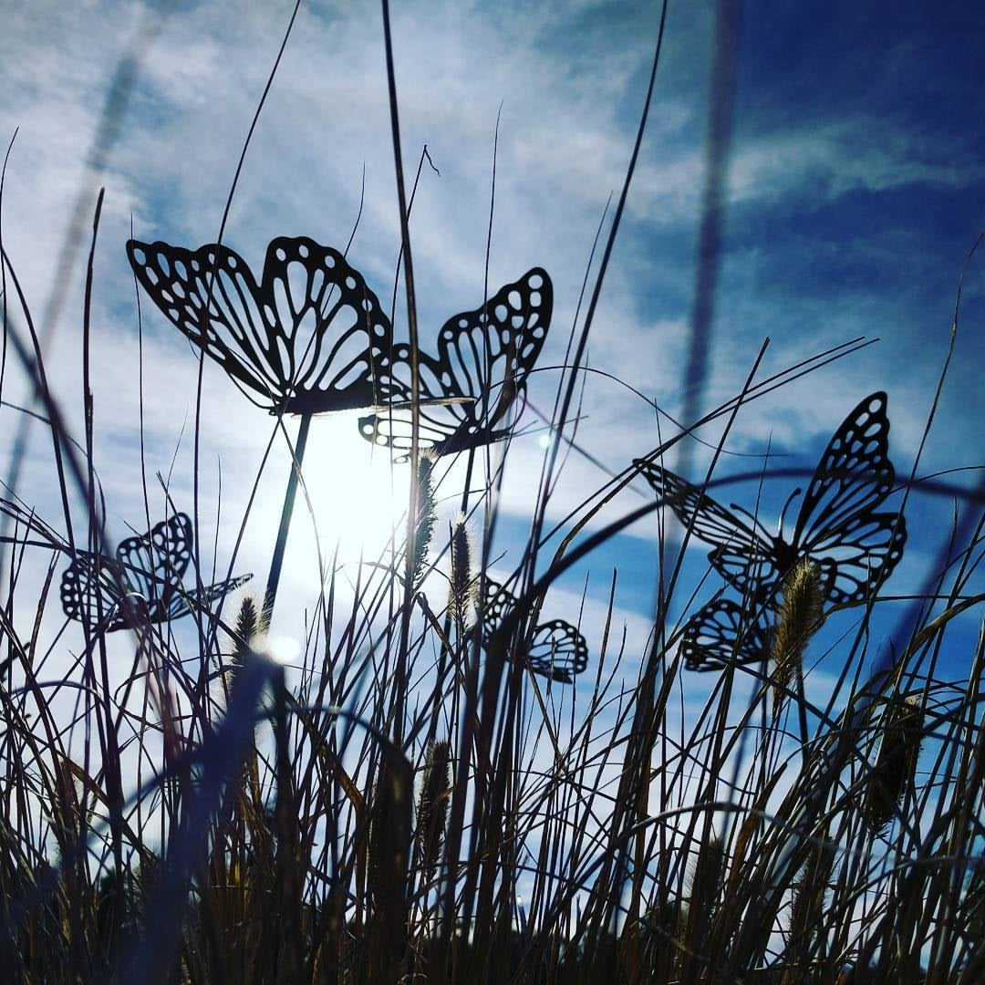 Butterflies on Stakes - Small