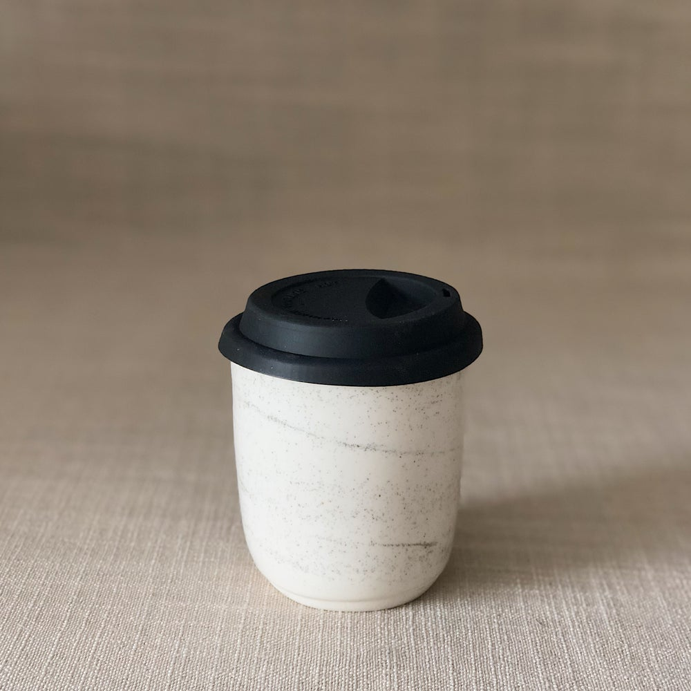 Image of ZEN WHITE TRAVEL CUP