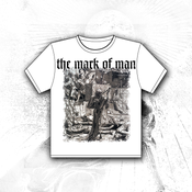 Image of 'Death As A Cut Throat' White Tee Shirt