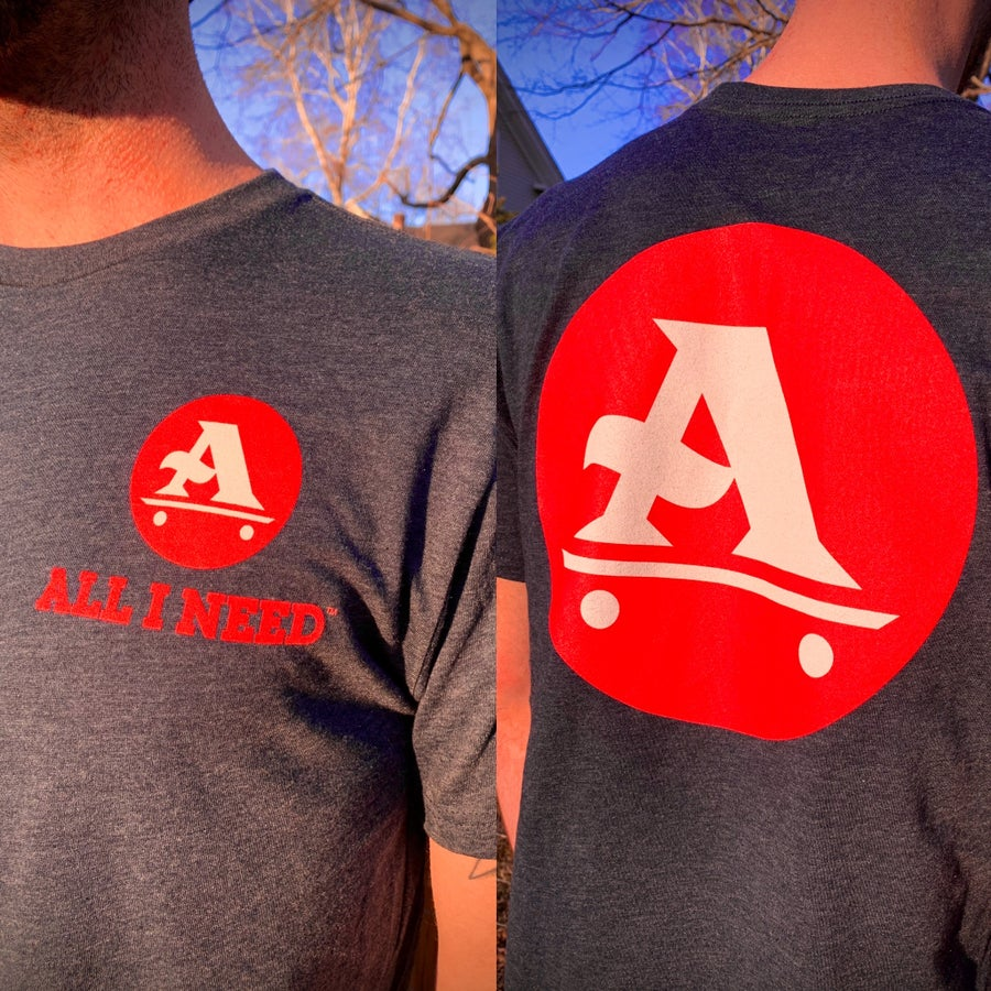 Image of A-Logo Midnight Navy / Red