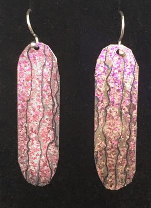 Image of Toofer Earrings, Long Lozenge-Shape