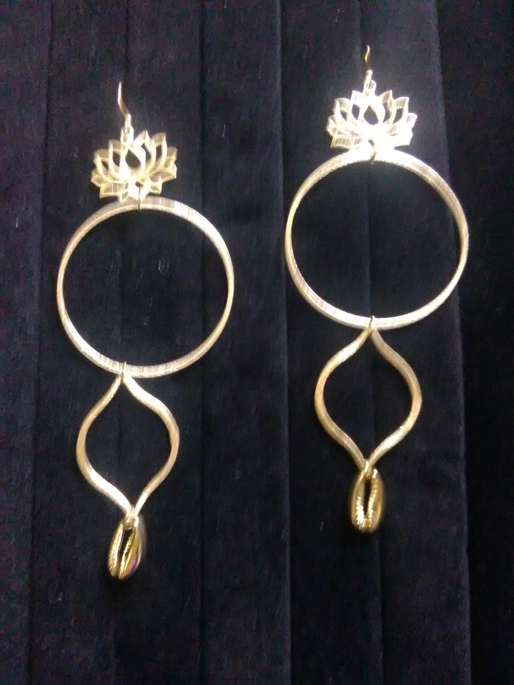 Image of Gold Plated Ear-Rings (1)