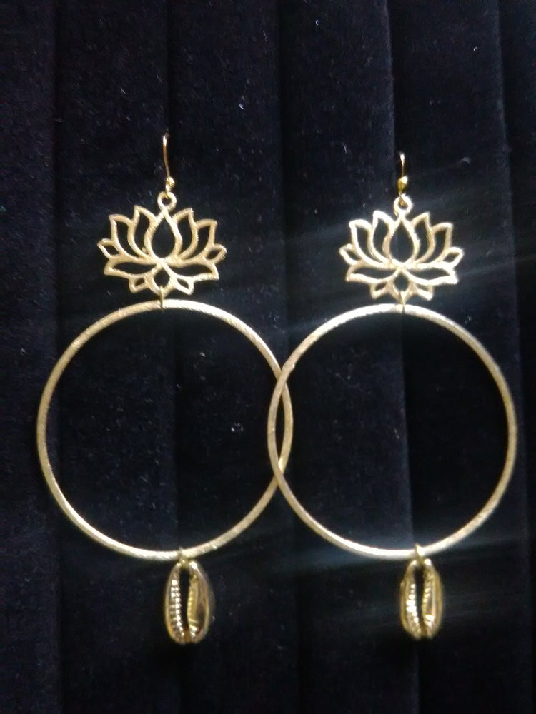 Image of Gold Plated Ear-Rings (2)