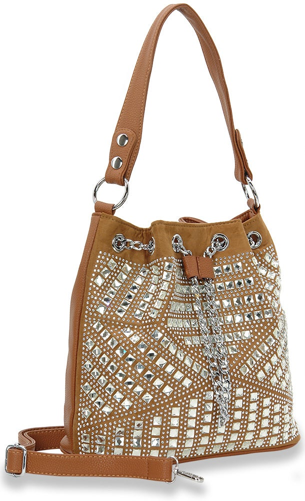 "Image of ""Sparkling"" Drawstring Hobo"