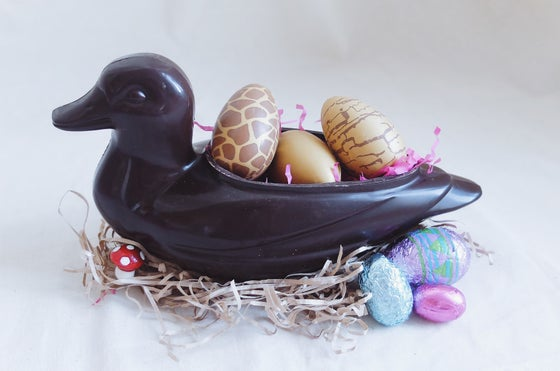 Image of Giant Dark Chocolate Easter Duck