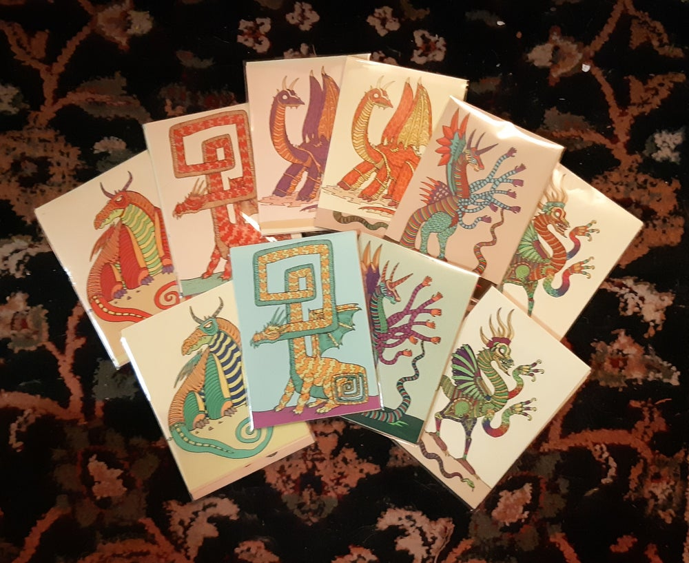 Image of Dragon Sticker Pack