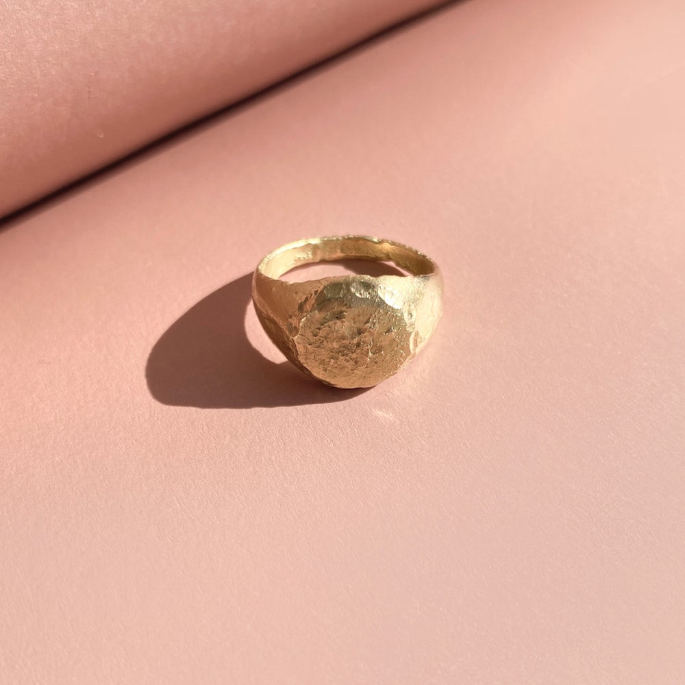Image of ROSITA RING / 24K GOLD-COATED SILVER