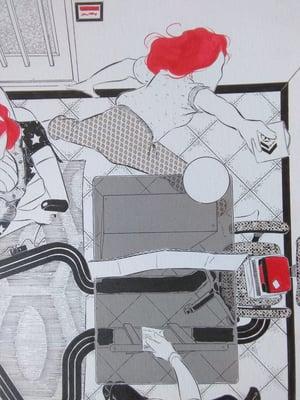 """Image of """"Yo me quedo en casa"""" escena 2 (ilustración original)"""