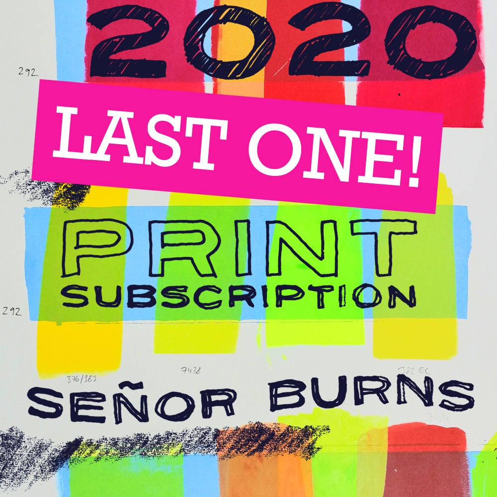 Image of 2020 BURNS PRINT SUBSCRIPTION