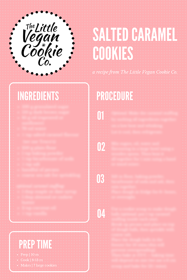Image of Salted Caramel Cookie Recipe