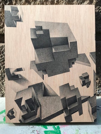 Image of Constellation (Diptych)