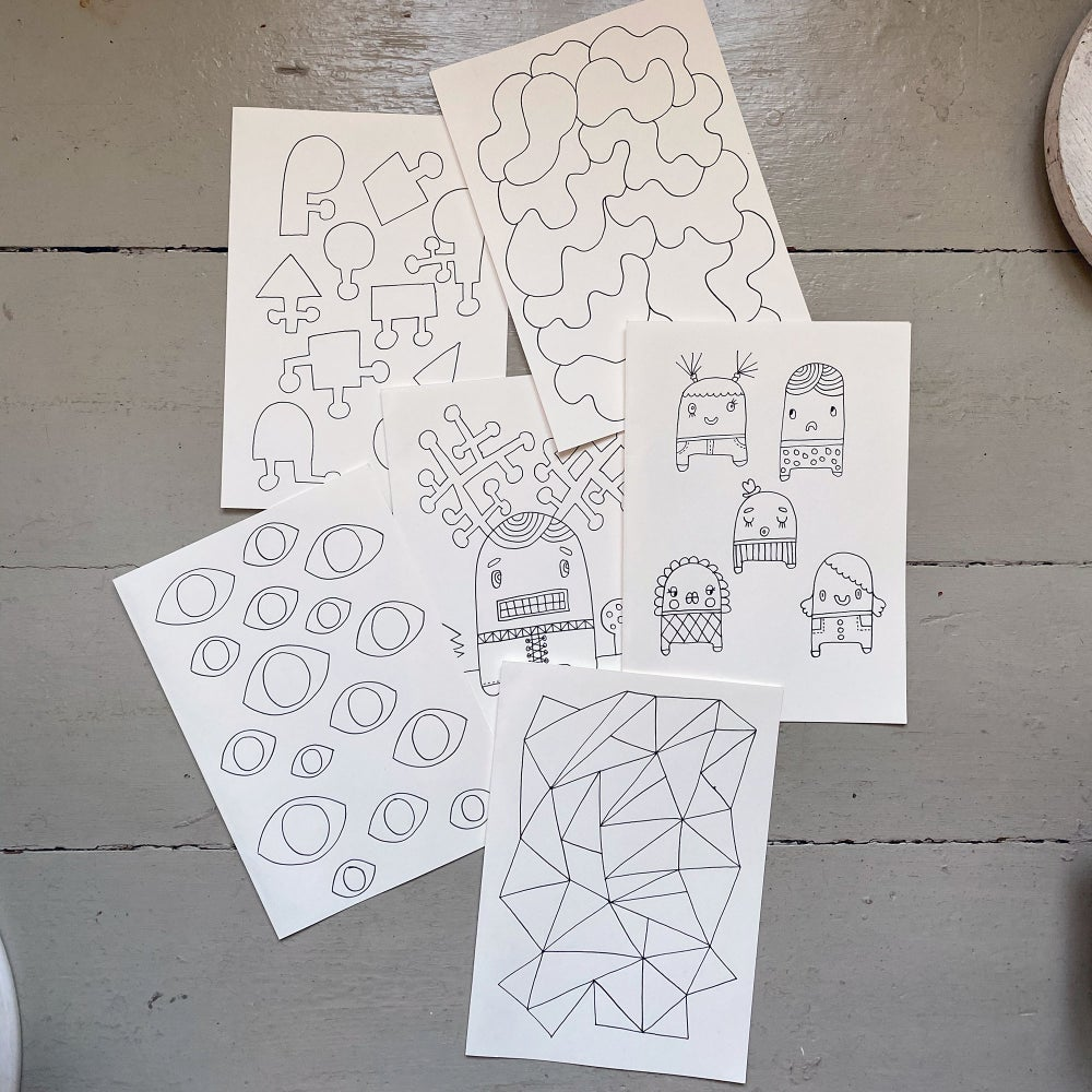 Image of Donation / Colouring sheets to download & print