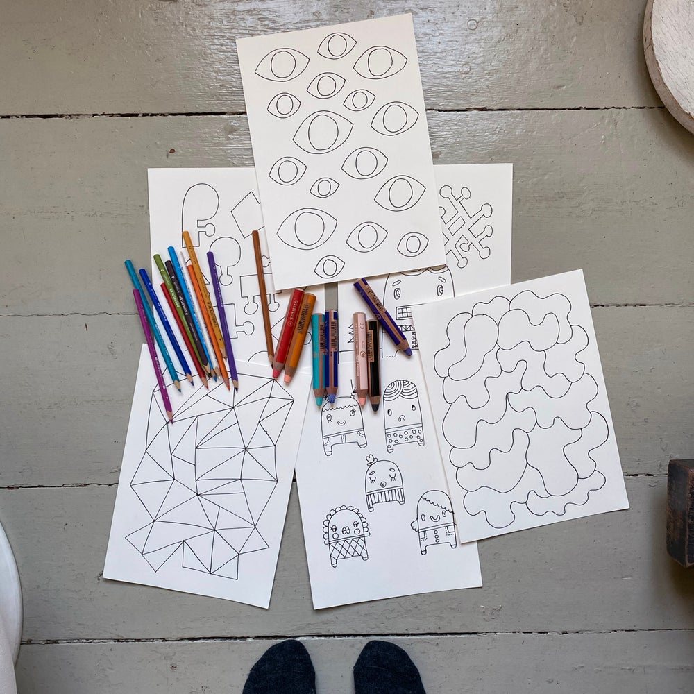 Image of Colouring sheets to download & print