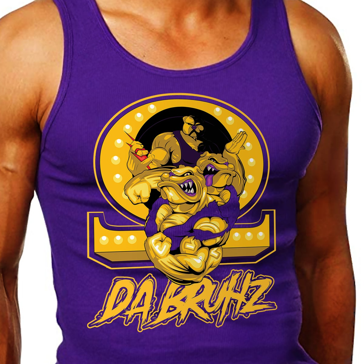 Image of Da Bruhz Graphic Tank - PREORDER