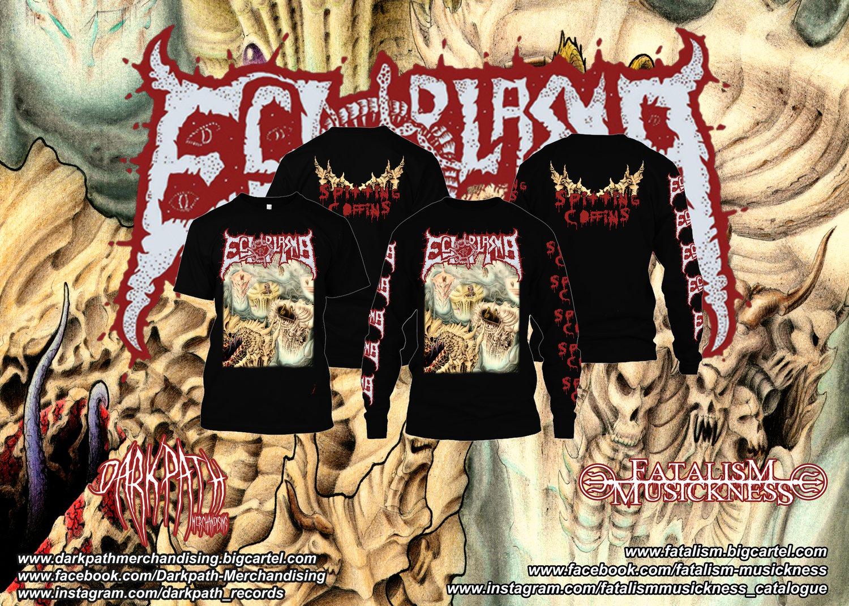 Image of ECTOPLASMA - Spitting Coffins SS & LS