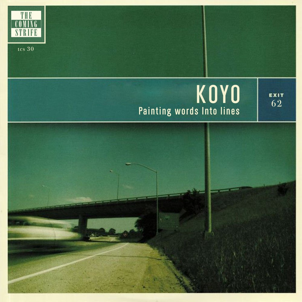 """TCS 030: Koyo - Painting Words Into Lines 10"""""""