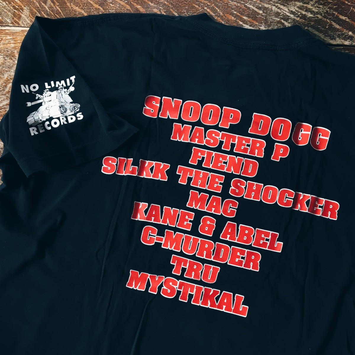 Image of Original 98'/99' No Limit Records World Tour Rap Tee.