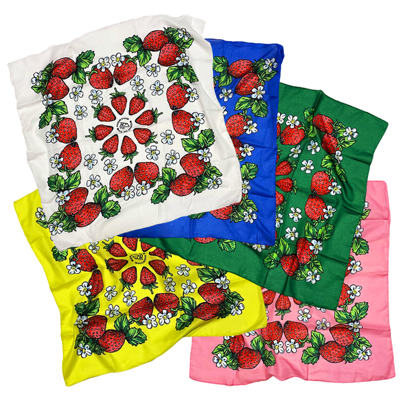 Image of Strawberry Kokum Scarves