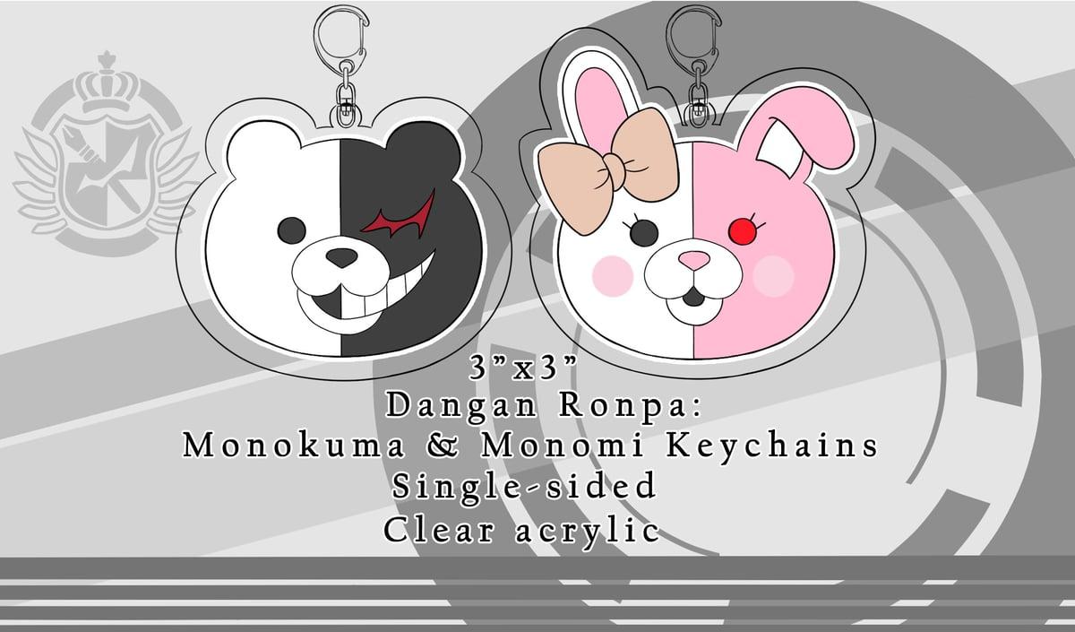 Dangan Ronpa: Monokuma & Monomi Keychains