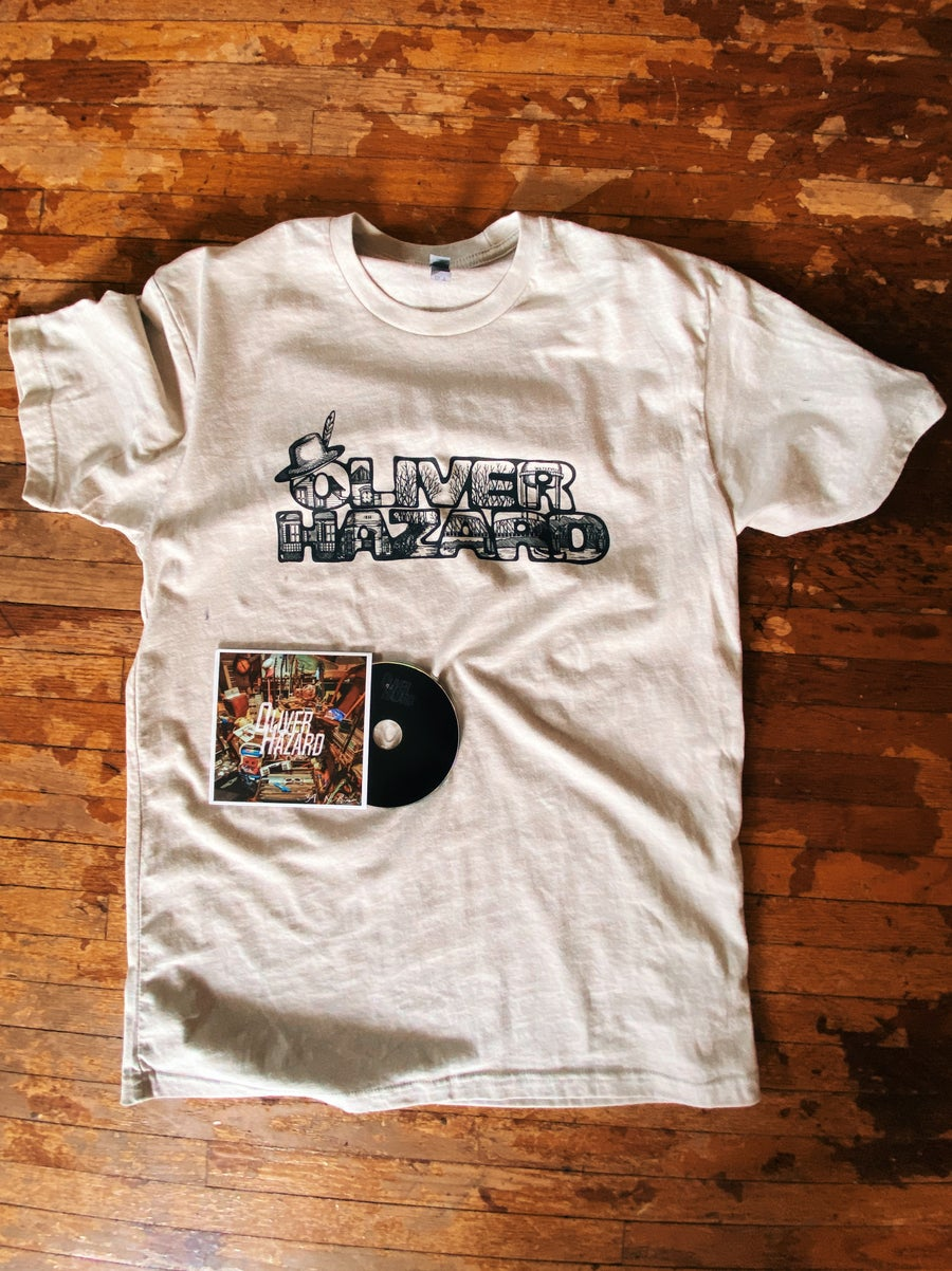 Image of T-Shirt + CD (Combo)