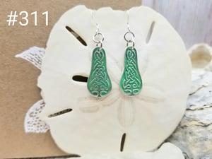 Image of  Fine Silver- Celtic- Earrings- Artisan- #311