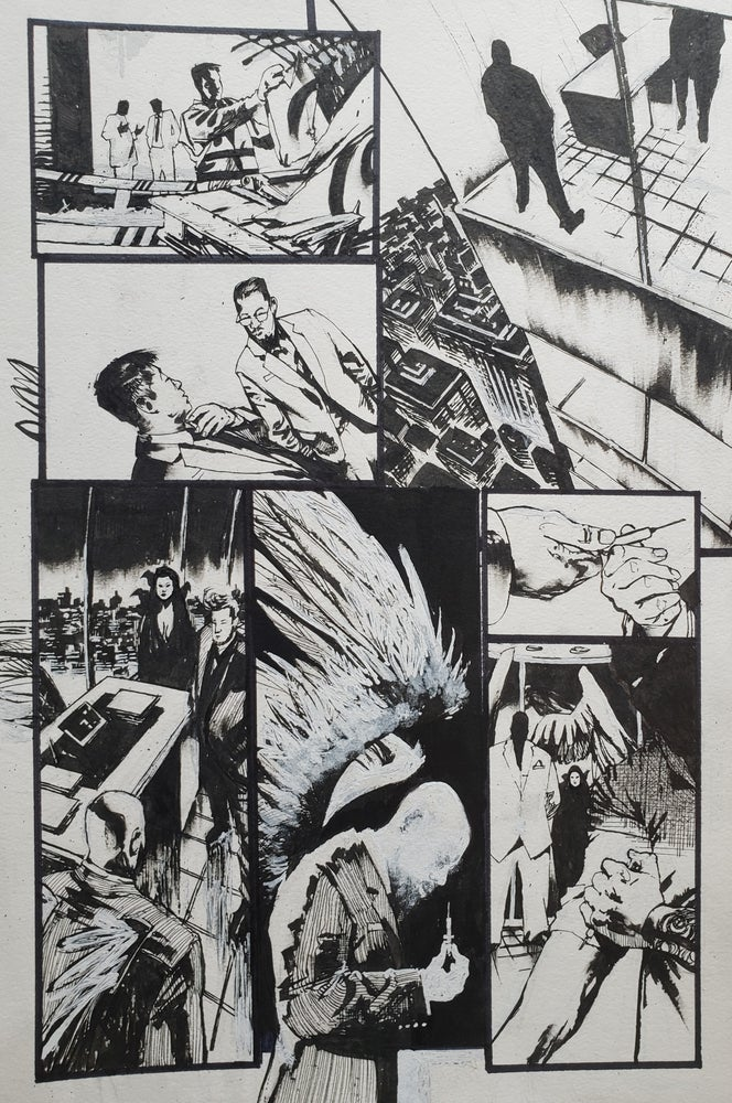 Image of Spawn Original Art page 12, issue 277