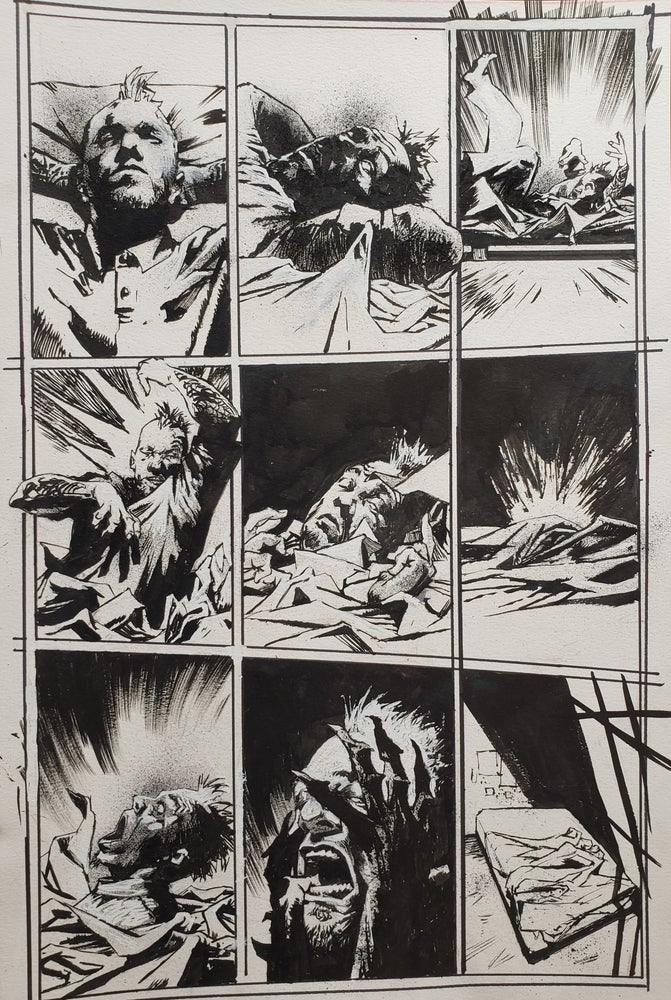 Image of Spawn Original Art page 11, issue 286
