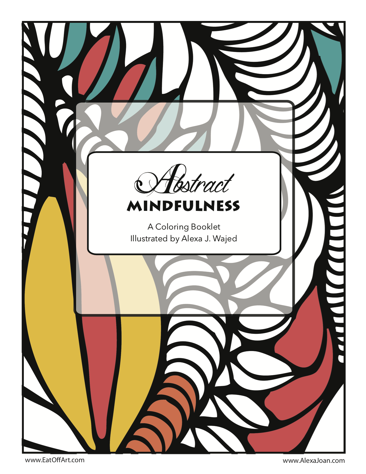 Image of Abstract Mindfulness - DIGITAL Coloring Book